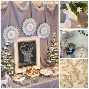 Oh Deer! She's 13! Themed Birthday Party with Such Cute Ideas via Kara's Party Ideas KarasPartyIdeas.com #ReindeerParty #ChristmasParty #ReindeerThemedDesserts #DeerParty #PartyIdeas #Supplies (1)