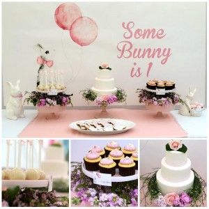 Some Bunny is One Party Full of Really Cute Ideas via Kara's Party Ideas KarasPartyIdeas.com #BunnyRabbitParty #1stBirthdayParty #PartyIdeas #Supplies (30)