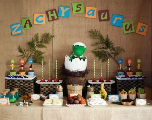 Dinosaur Party Full of Really Cute Ideas via Kara's Party Ideas KarasPartyIdeas.com #DinosaurCake #DinosaurDesserts #PartyIdeas #Supplies (4)