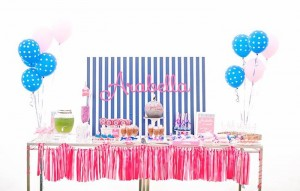 Preppy Disco Party with Such Cute Ideas via Kara's Party Ideas | KarasPartyIdeas.com #PinkDiscoParty #DiscoParty #GirlyParty #PartyIdeas #Supplies (9)