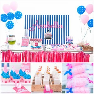 Preppy Disco Party with Such Cute Ideas via Kara's Party Ideas | KarasPartyIdeas.com #PinkDiscoParty #DiscoParty #GirlyParty #PartyIdeas #Supplies (1)