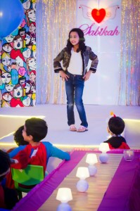 A Fashion Show Birthday Party With Lots of Really Cute Ideas via Kara's Party Ideas | KarasPartyIdeas.com #FashionRunway #FashionShowParty #NeonParty #PartyIdeas #Supplies (18)