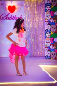 A Fashion Show Birthday Party With Lots of Really Cute Ideas via Kara's Party Ideas | KarasPartyIdeas.com #FashionRunway #FashionShowParty #NeonParty #PartyIdeas #Supplies (13)