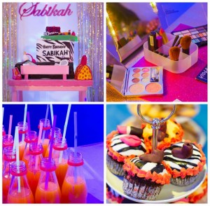 A Fashion Show Birthday Party With Lots of Really Cute Ideas via Kara's Party Ideas | KarasPartyIdeas.com #FashionRunway #FashionShowParty #NeonParty #PartyIdeas #Supplies (1)