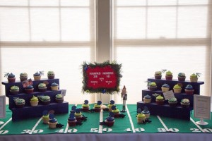 A Verry Merry Tailgating Christmas party with Such Cute Ideas via Kara's Party Ideas KarasPartyIdeas.com #TailgatingParty #FootballParty #ChristmasFootballParty #PartyIdeas #Supplies (18)