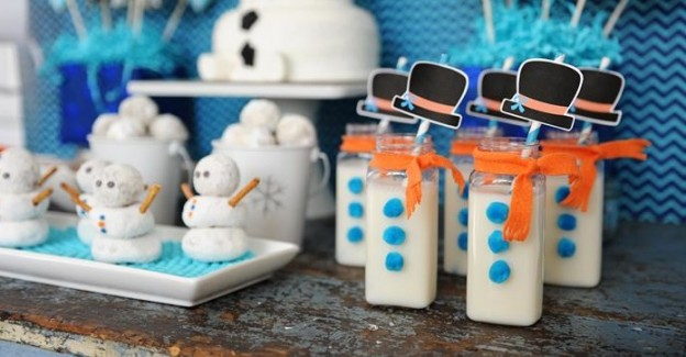 disney frozen themed birthday party via Kara's Party Ideas Kara Allen