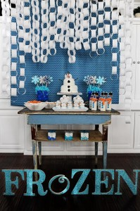 Disney's Frozen Party with So Many Cute Ideas via Kara's Party Ideas KarasPartyIdeas.com #FrozenParty #SnowmanParty #WinterWonderland #PartyIdeas #Supplies (3)