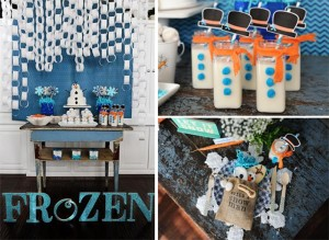 Disney's Frozen Party with So Many Cute Ideas via Kara's Party Ideas KarasPartyIdeas.com #FrozenParty #SnowmanParty #WinterWonderland #PartyIdeas #Supplies (1)