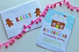 Gingerbread House Decorating Party Full of Cute Ideas via Kara's Party Ideas | KarasPartyIdeas.com #GingerbreadCookies #ChristmasParty #PartyIdeas #Supplies (2)