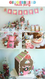 Gingerbread House Party with So Many Cute Ideas via Kara's Party Ideas | KarasPartyIdeas.com #GingerbreadHouse #ChristmasParty #PartyIdeas #Supplies (5)