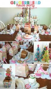 Gingerbread House Party with So Many Cute Ideas via Kara's Party Ideas | KarasPartyIdeas.com #GingerbreadHouse #ChristmasParty #PartyIdeas #Supplies (4)