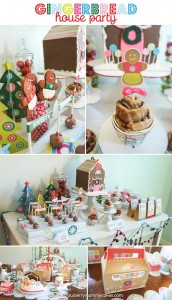 Gingerbread House Party with So Many Cute Ideas via Kara's Party Ideas | KarasPartyIdeas.com #GingerbreadHouse #ChristmasParty #PartyIdeas #Supplies (3)