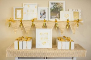 Sparkle and Shine Golden Birthday Party with Really Cute Ideas via Kara's Party Ideas KarasPartyIdeas.com #GoldenBirthday #GoldParty #GoldenWeddingAnniversary #Party #Ideas #Supplies (10)