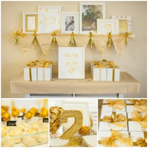 Sparkle and Shine Golden Birthday Party with Really Cute Ideas via Kara's Party Ideas KarasPartyIdeas.com #GoldenBirthday #GoldParty #GoldenWeddingAnniversary #Party #Ideas #Supplies (1)