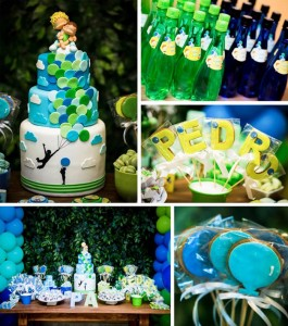 Green and Blue Balloon Themed Birthday Party with Lots of Really Cute Ideas via Kara's Party Ideas KarasPartyIdeas.com (1)