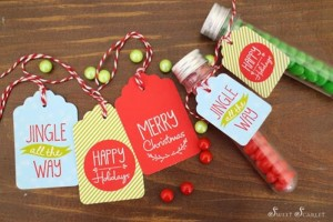 """Jingle All the Way"" Christmas Hot Cocoa Bar with So Many Really Cute Ideas via Kara's Party Ideas KarasPartyIdeas.com #HotCocoaBar #HotChocolate #ChristmasParty #NorthPoleParty (4)"