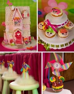 Rainbow Lalaloopsy Party with So Many Cute Ideas via Kara's Party Ideas KarasPartyIdeas.com #LalaloopsyParty #LalaloopsyDollParty #RainbowParty #PartyIdeas #Supplies (1)