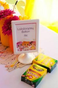 Rainbow Lalaloopsy Party with So Many Cute Ideas via Kara's Party Ideas KarasPartyIdeas.com #LalaloopsyParty #LalaloopsyDollParty #RainbowParty #PartyIdeas #Supplies (4)