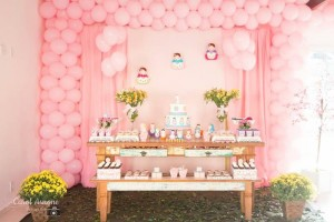 Matryoshka Nesting Doll Party Full of Really Cute Ideas via Kara's Party Ideas | KarasPartyIdeas.com #MatryoshkaDollParty #GirlParty #1stBirthdayParty #PartyIdeas #Supplies (17)