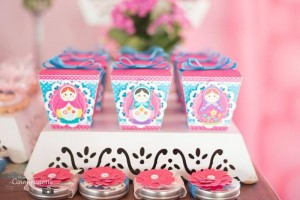 Matryoshka Nesting Doll Party Full of Really Cute Ideas via Kara's Party Ideas | KarasPartyIdeas.com #MatryoshkaDollParty #GirlParty #1stBirthdayParty #PartyIdeas #Supplies (7)