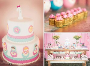 Matryoshka Nesting Doll Party Full of Really Cute Ideas via Kara's Party Ideas | KarasPartyIdeas.com #MatryoshkaDollParty #GirlParty #1stBirthdayParty #PartyIdeas #Supplies (1)