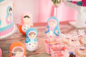Matryoshka Nesting Doll Party Full of Really Cute Ideas via Kara's Party Ideas | KarasPartyIdeas.com #MatryoshkaDollParty #GirlParty #1stBirthdayParty #PartyIdeas #Supplies (12)