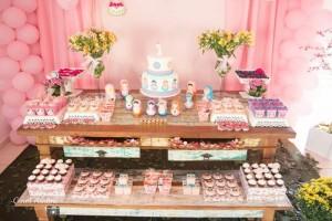 Matryoshka Nesting Doll Party Full of Really Cute Ideas via Kara's Party Ideas | KarasPartyIdeas.com #MatryoshkaDollParty #GirlParty #1stBirthdayParty #PartyIdeas #Supplies (10)