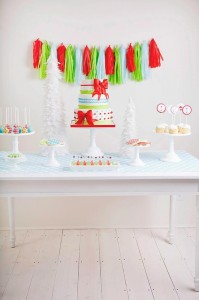 A Merry and Bright Christmas Party with Such Cute Ideas via Kara's Party Ideas KarasPartyIdeas.com #ChristmasParty #HolidayParty #PartyIdeas #Supplies (28)