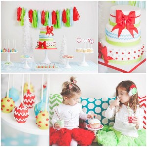 A Merry and Bright Christmas Party with Such Cute Ideas via Kara's Party Ideas KarasPartyIdeas.com #ChristmasParty #HolidayParty #PartyIdeas #Supplies (1)