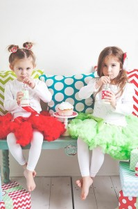 A Merry and Bright Christmas Party with Such Cute Ideas via Kara's Party Ideas KarasPartyIdeas.com #ChristmasParty #HolidayParty #PartyIdeas #Supplies (9)