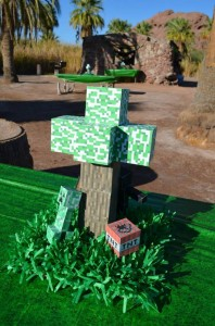 Minecraft Party with Full of Awesome Ideas via Kara' s Party Ideas KarasPartyIdeas.com #TweenParty #GamingParty #PartyIdeas #Supplies (4)