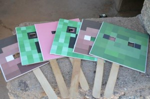 Minecraft Party with Full of Awesome Ideas via Kara' s Party Ideas KarasPartyIdeas.com #TweenParty #GamingParty #PartyIdeas #Supplies (15)
