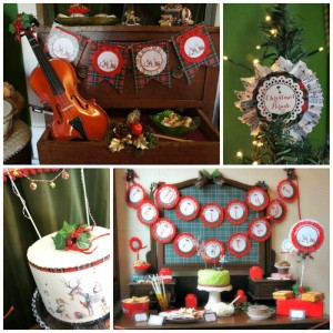 Christmas Parade Party with Such Cute Ideas via Kara's Party Ideas | KarasPartyIdeas.com #ChristmasParty #HolidayParty #PartyIdeas #Supplies (1)