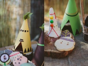 Pow Wow Party with Such Cute Ideas via Kara's Party Ideas | KarasPartyIdeas.com #IndianParty #NativeAmericanParty #PowWowCake #PartyIdeas #Supplies (11)