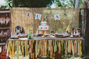 Pow Wow Party with Such Cute Ideas via Kara's Party Ideas | KarasPartyIdeas.com #IndianParty #NativeAmericanParty #PowWowCake #PartyIdeas #Supplies (10)