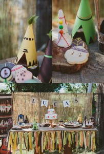 Pow Wow Party with Such Cute Ideas via Kara's Party Ideas | KarasPartyIdeas.com #IndianParty #NativeAmericanParty #PowWowCake #PartyIdeas #Supplies (2)