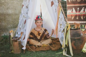 Pow Wow Party with Such Cute Ideas via Kara's Party Ideas | KarasPartyIdeas.com #IndianParty #NativeAmericanParty #PowWowCake #PartyIdeas #Supplies (6)
