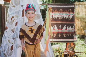 Pow Wow Party with Such Cute Ideas via Kara's Party Ideas | KarasPartyIdeas.com #IndianParty #NativeAmericanParty #PowWowCake #PartyIdeas #Supplies (4)