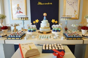 Little Prince Party with So Many Cute Ideas via Kara's Party Ideas KarasPartyIdeas.com #PrinceParty #PartyIdeas #Supplies (9)