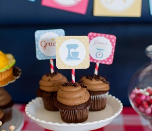 Retro Kitchen Bridal Shower with Lots of Really Cute Ideas via Kara's Party Ideas | KarasPartyIdeas.com #RetroBridalShower #RetroParty #PartyIdeas #Supplies (32)