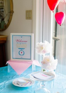 Retro Kitchen Bridal Shower with Lots of Really Cute Ideas via Kara's Party Ideas | KarasPartyIdeas.com #RetroBridalShower #RetroParty #PartyIdeas #Supplies (12)