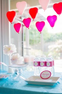 Retro Kitchen Bridal Shower with Lots of Really Cute Ideas via Kara's Party Ideas | KarasPartyIdeas.com #RetroBridalShower #RetroParty #PartyIdeas #Supplies (9)