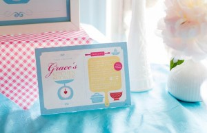 Retro Kitchen Bridal Shower with Lots of Really Cute Ideas via Kara's Party Ideas | KarasPartyIdeas.com #RetroBridalShower #RetroParty #PartyIdeas #Supplies (7)