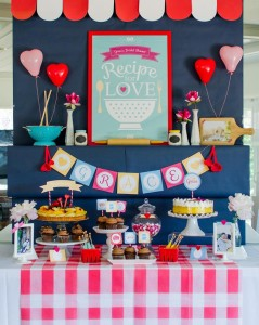 Retro Kitchen Bridal Shower with Lots of Really Cute Ideas via Kara's Party Ideas | KarasPartyIdeas.com #RetroBridalShower #RetroParty #PartyIdeas #Supplies (4)