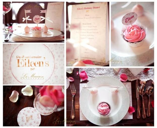 Rose Themed 18th Birthday Party with So Many Great Ideas via Kara's Party Ideas KarasPartyIdeas.com #BridalShower #18thBirthday #RoseParty #PartyIdeas #Supplies (8)