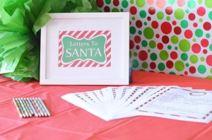 Santa's Workshop Themed Birthday Party with Lots of Really Cute Ideas via Kara's Party Ideas | KarasPartyIdeas.com #ChrismtasParty #SantaParty #HolidayParty #PartyIdeas #Supplies (6)