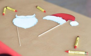 Santa's Workshop Themed Birthday Party with Lots of Really Cute Ideas via Kara's Party Ideas | KarasPartyIdeas.com #ChrismtasParty #SantaParty #HolidayParty #PartyIdeas #Supplies (5)