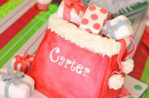 Santa's Workshop Themed Birthday Party with Lots of Really Cute Ideas via Kara's Party Ideas | KarasPartyIdeas.com #ChrismtasParty #SantaParty #HolidayParty #PartyIdeas #Supplies (19)