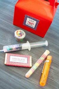 Science Themed Birthday Party with Lots of Realy Awesome Ideas via Kara's Party Ideas KarasPartyIdeas.com #ScienceParty #PeriodicTableOfElements #PartyIdeas #Supplies (11)