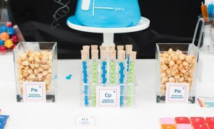 Science Themed Birthday Party with Lots of Realy Awesome Ideas via Kara's Party Ideas KarasPartyIdeas.com #ScienceParty #PeriodicTableOfElements #PartyIdeas #Supplies (8)